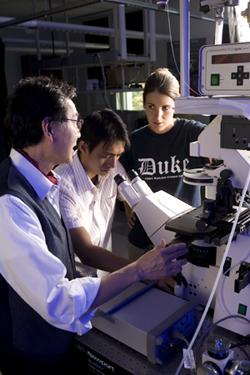 Duke is becoming an international center of gravity for photonics