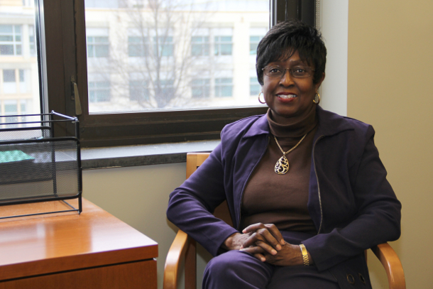 Associate Dean for Undergraduate Affairs Connie Simmons