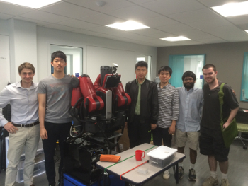 The Amazing Picking Team: Haden Bader, Yilun Zhou, Hyunsoo Kim, Bernard Amaldoss, Wes Hill and Giseok Choi