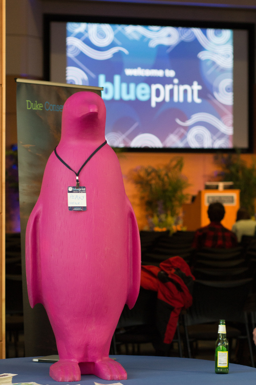 Duke blueprint pioneers the ideathon duke pratt school of engineering the 21c museum hotels trademark fuschia penguin attends the keynote talks at blueprint 21c sponsored the event providing lodging for experts attending malvernweather Image collections