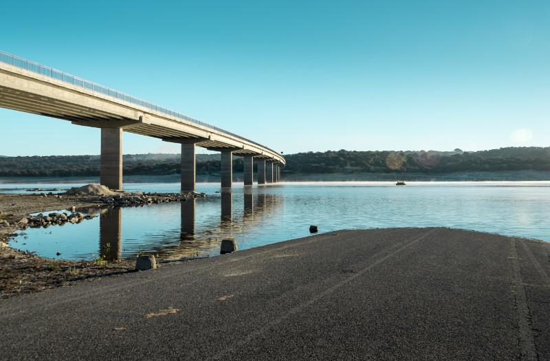 bridge over lake