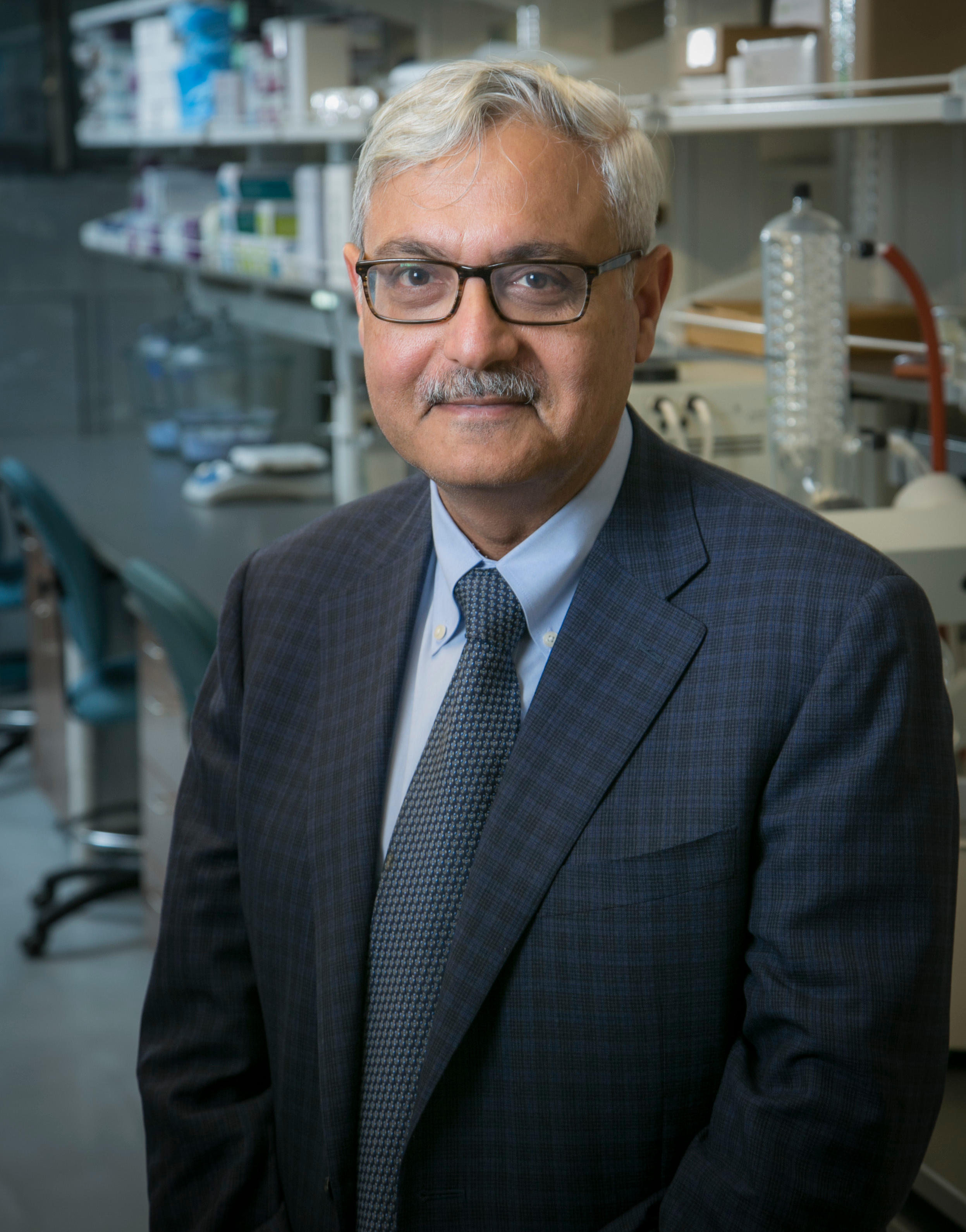 Ashutosh Chilkoti, Chair and Alan L. Kaganov Professor of Biomedical Engineering