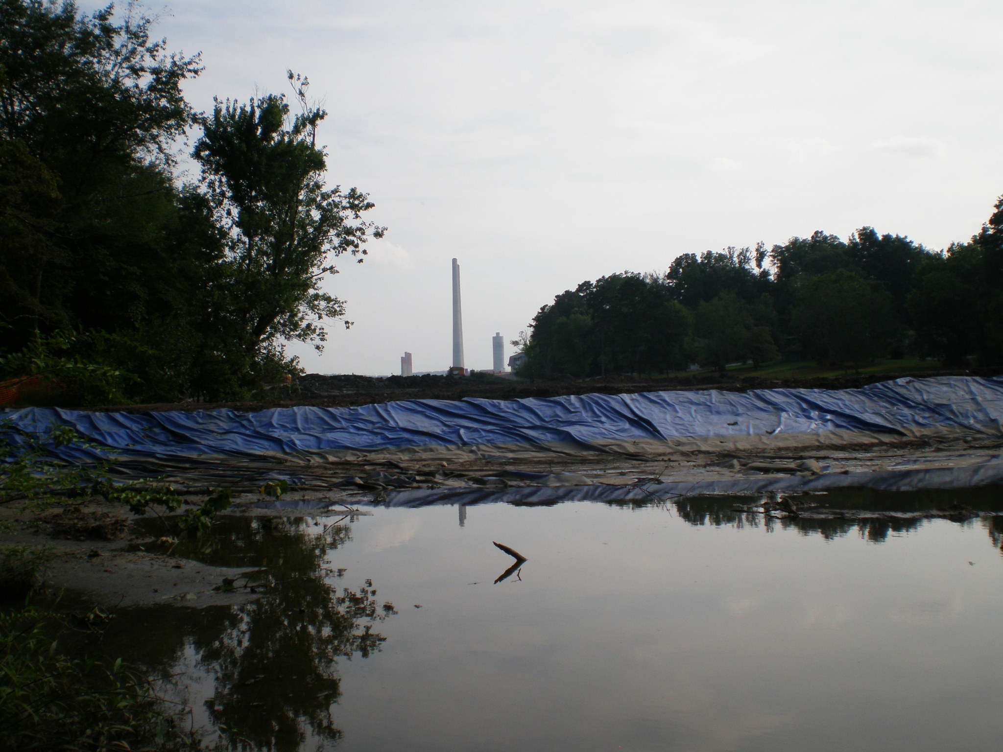 The TVA Kingston Fossil Plant in Roane County, Tenn. was the site of a 2008 spill of more than 1 billion gallons of coal ash slurry.