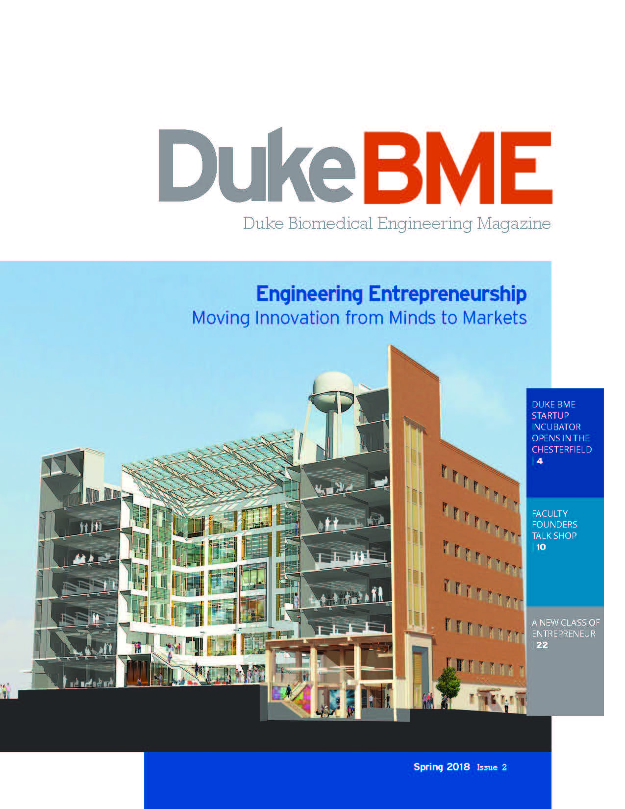 Explore the Spring 2018 issue of Duke BME Magazine