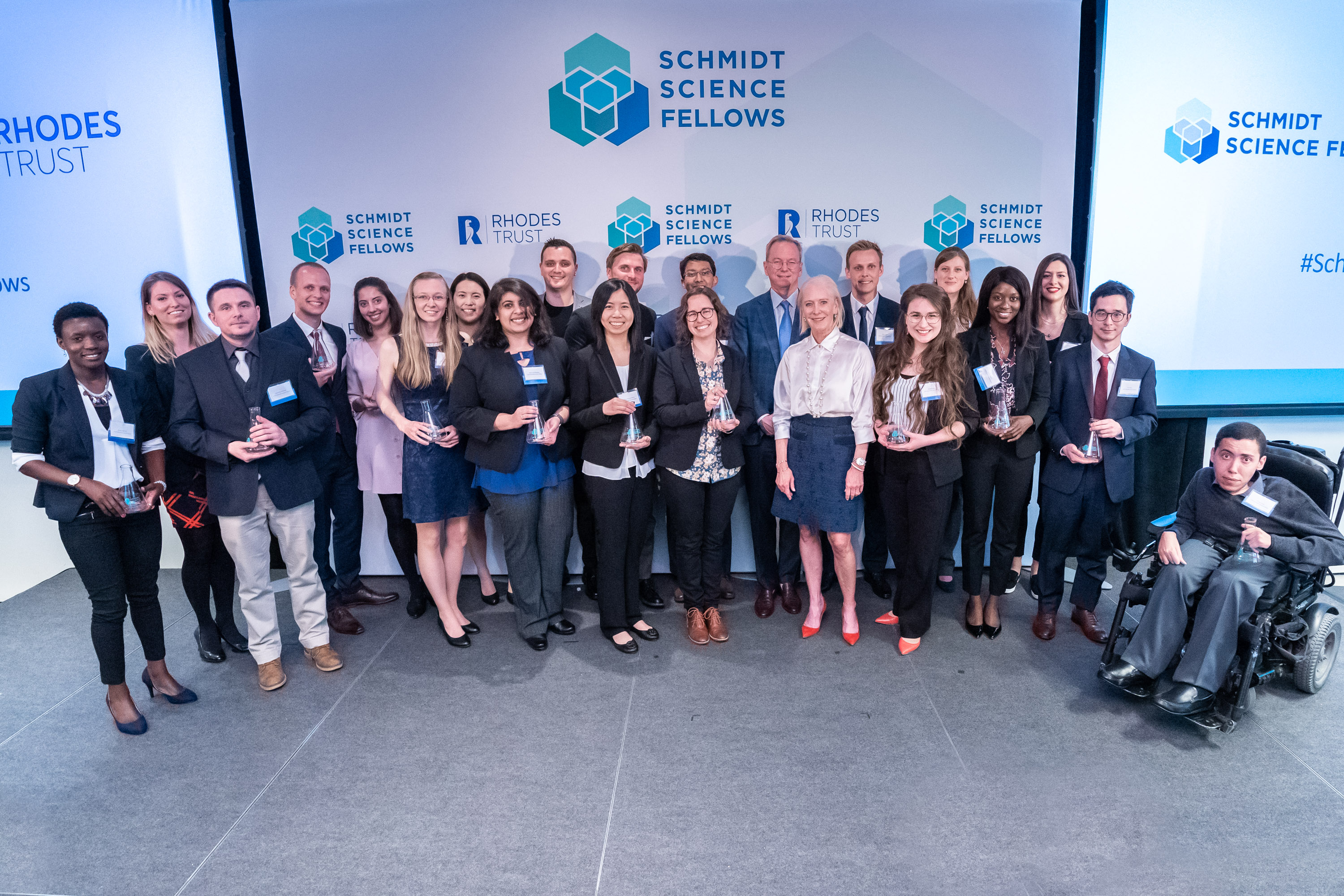 The 2019 Class of Schmidt Science Fellows. Photo by Adam Schultz.