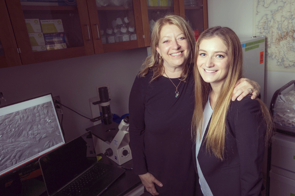 Madison Danoff with Lisa Satterwhite