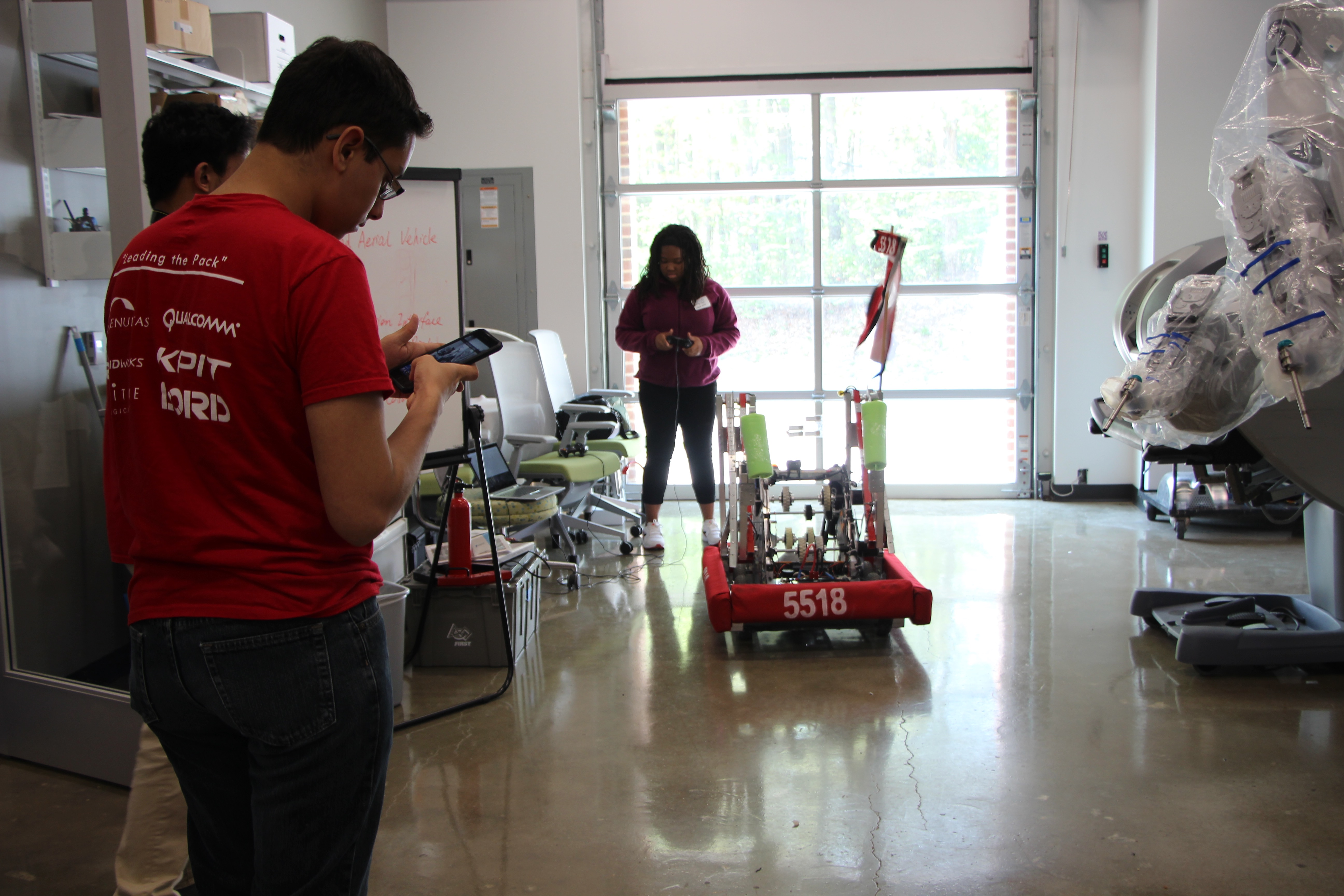 Robots at the Duke Robotics Student Symposium
