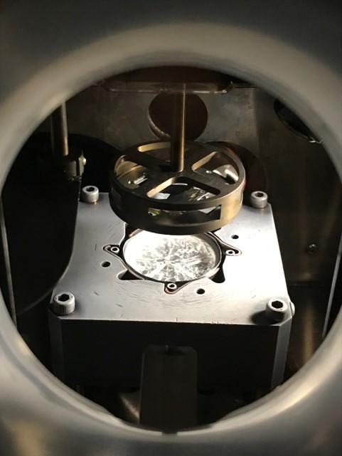 inside the RIR-MAPLE chamber