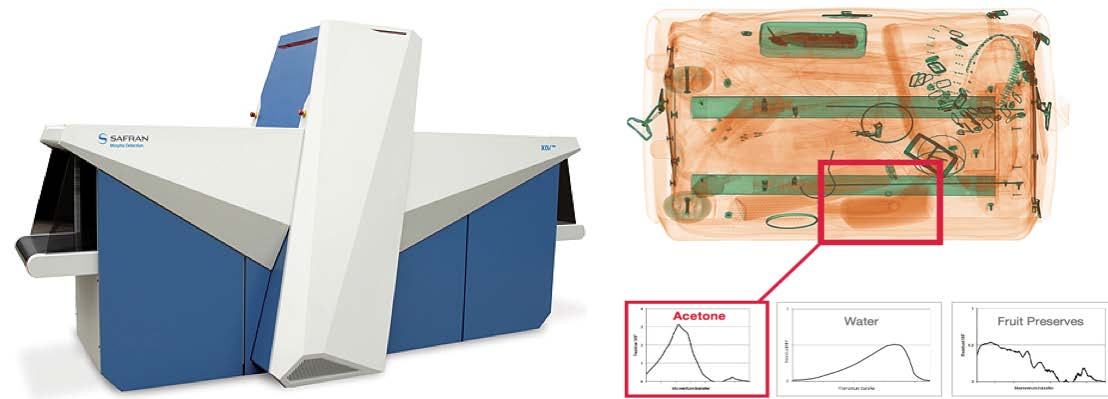 x-ray diffraction scanner and representative image