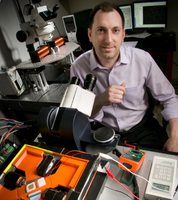 Benjamin Yellen, associate professor of mechanical engineering and materials science