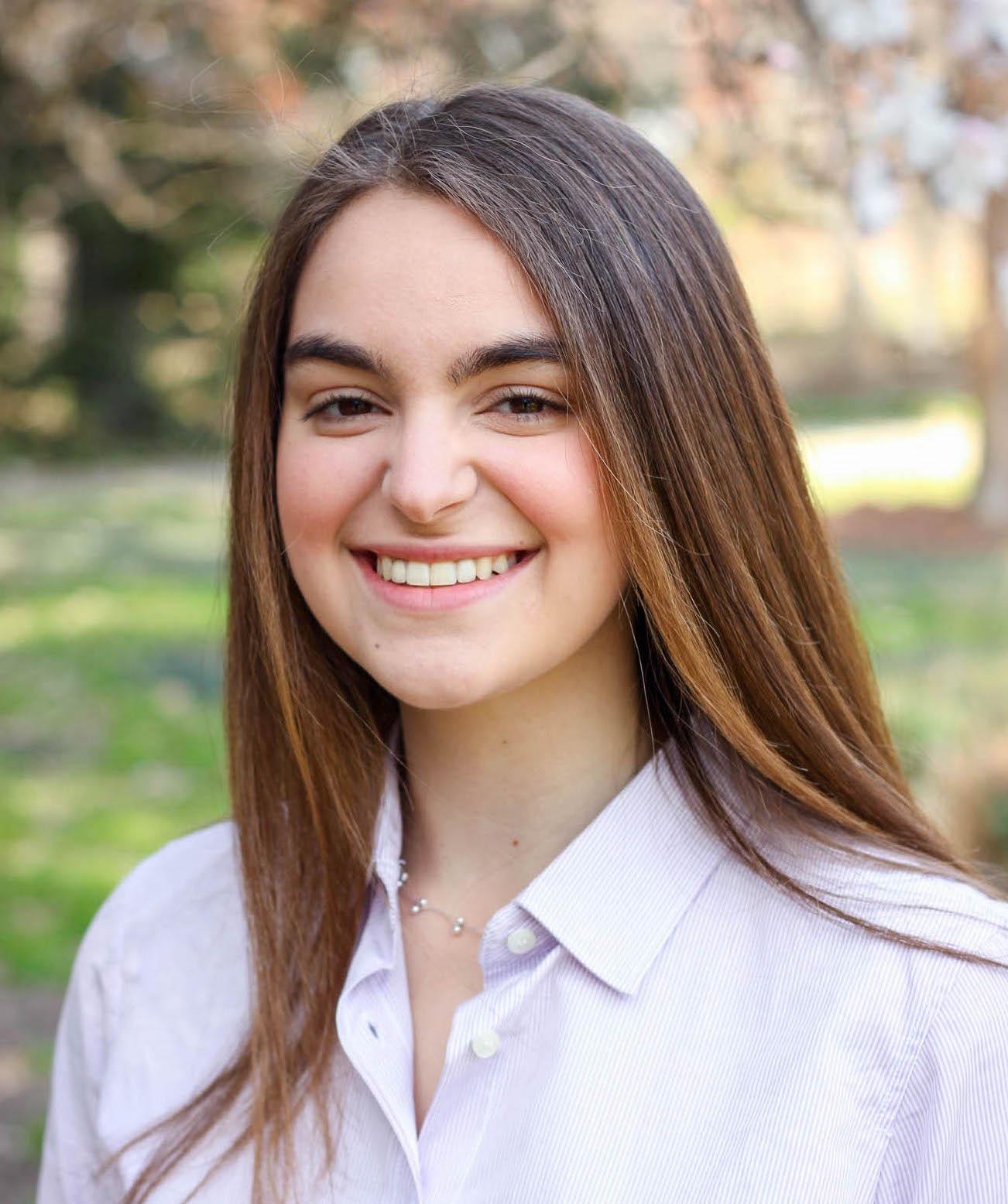 Michelle Moffa, a Duke Grand Challenge Scholar