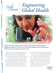Engineering Global Health