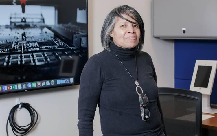 Rochelle Newton in her office