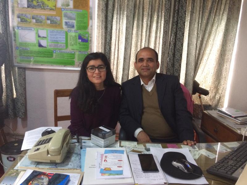 Pratiksha Sharma and Lok Bijaya Adhikari
