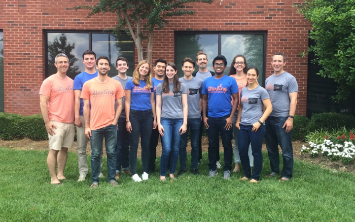 The team at VersaMe at their office in Huntersville, North Carolina