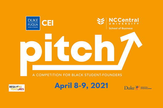 Pitch A Competition for Black Student Founder April 8-9, 2021