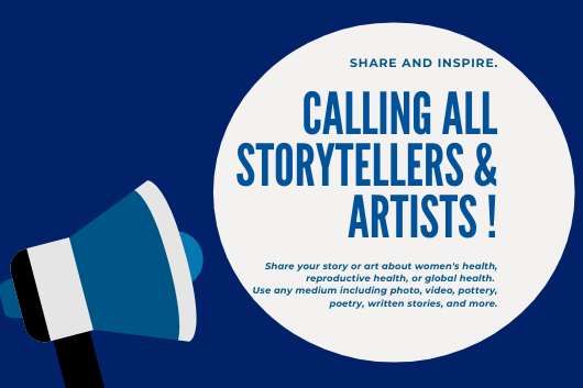 ongoing call for artists and storytellers