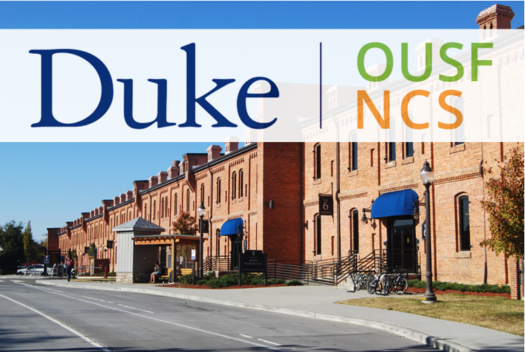 Smith Warehouse with Duke NCS banner