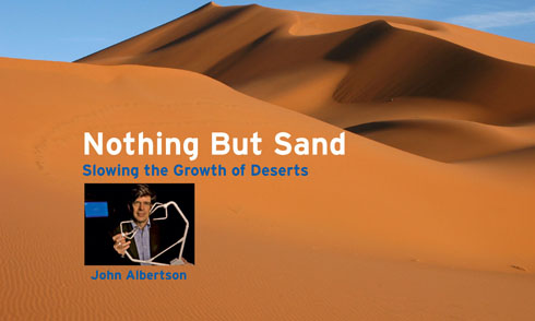 nothing but sand