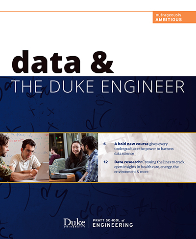 Data & The Duke Engineer publication cover