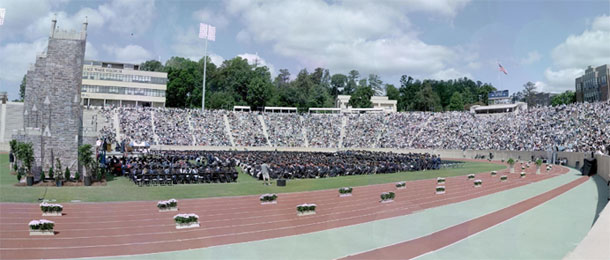gigapixel photo of commencement