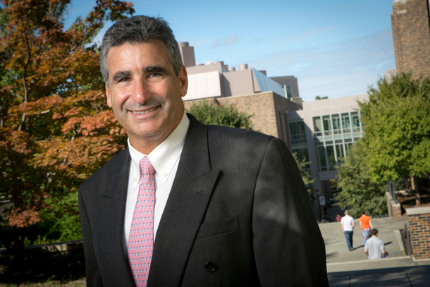 Outgoing dean Tom Katsouleas