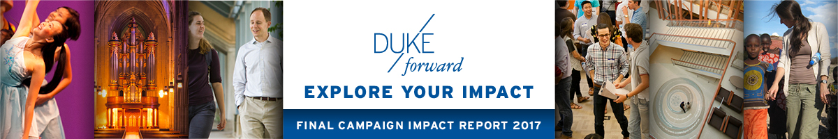Duke Forward: Explore Your Impact