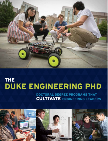 Duke Engineering PhD publication cover