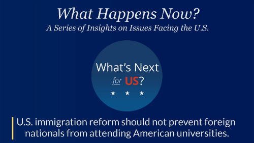 Duke Engineering Dean Shares Thoughts on U S Immigration Reform