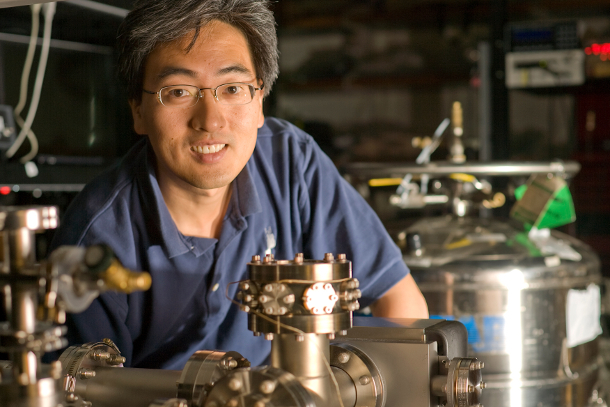 Jungsang Kim, professor of electrical and computer engineering at Duke University