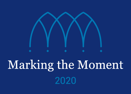 Marking the Moment: Duke 2020 logo