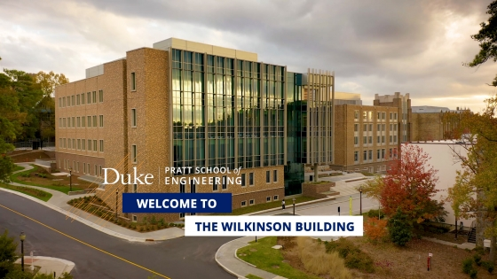 Welcome to the Wilkinson Building video title card