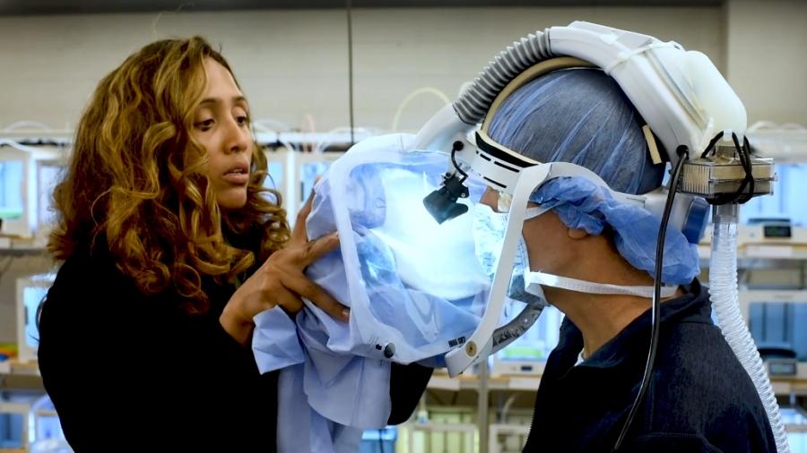 3D SHIELD surgical hood