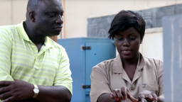 Duke Engineering professor Fred Boadu at Nkrumah University of Science and Technology in Ghana.