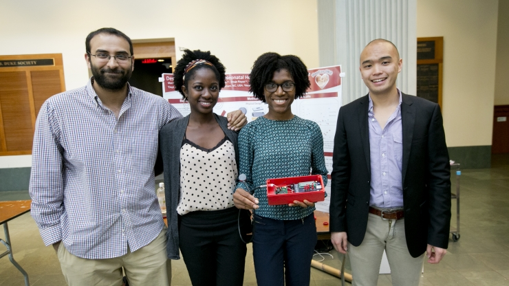 BME senior research project showcase