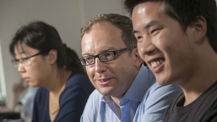 Guglielmo Scovazzi with students