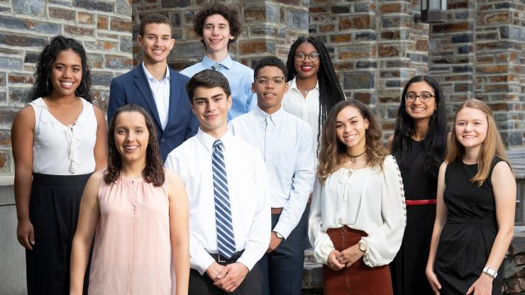 Class of 2023 A. James Clark Scholars at Duke