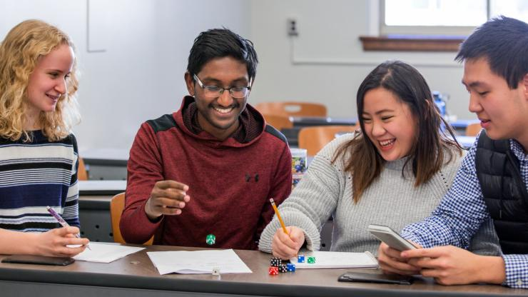 In a world full of uncertainties, how can you maximize your chances of picking the best option? Students learn strategies for predicting probabilities through hands-on lab activities.