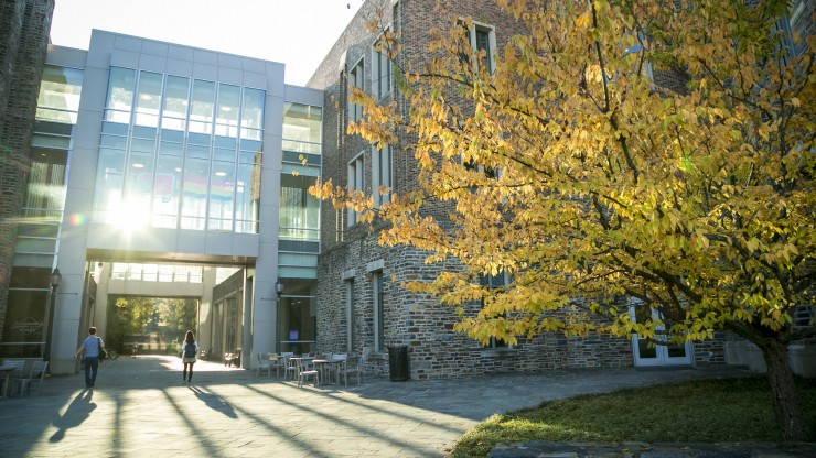 Fitzpatrick Center in fall