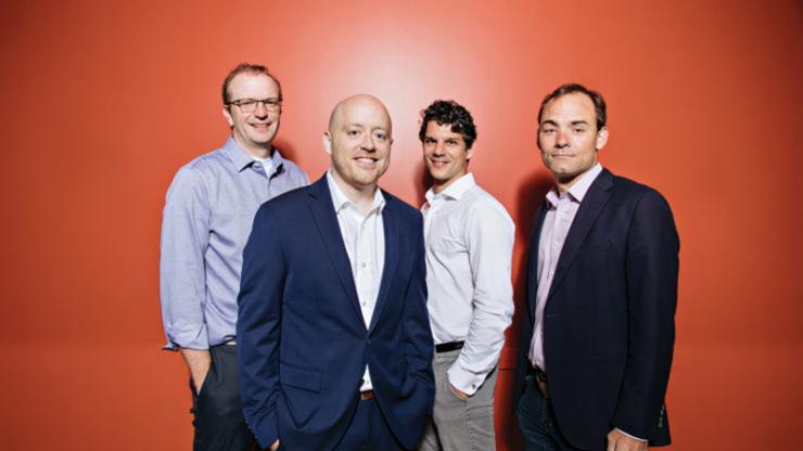 Element Genomics: Tim Reddy, Kris Wood, Greg Crawford and Charlie Gersbach