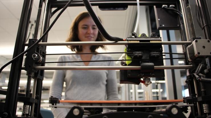 Student and faculty led startups focus on a multitude of topics, from gene editing to 3-D printing