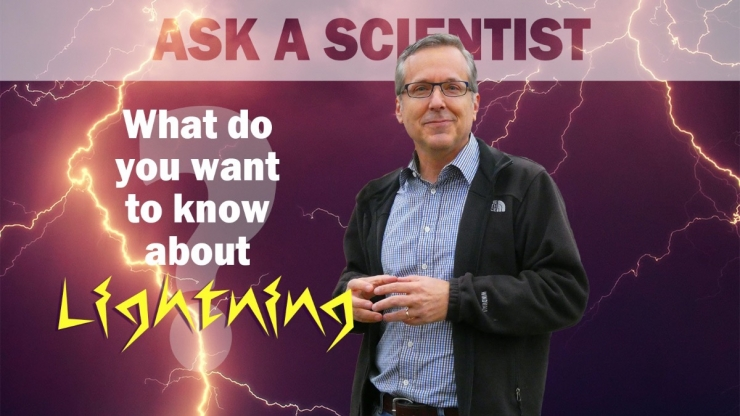Ask a Scientist ad with Steve Cummer