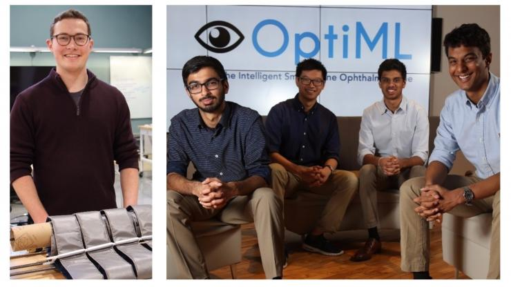 Inaugural Baquerizo Innovation Grant winners - Zephyr Mobility and OptiML