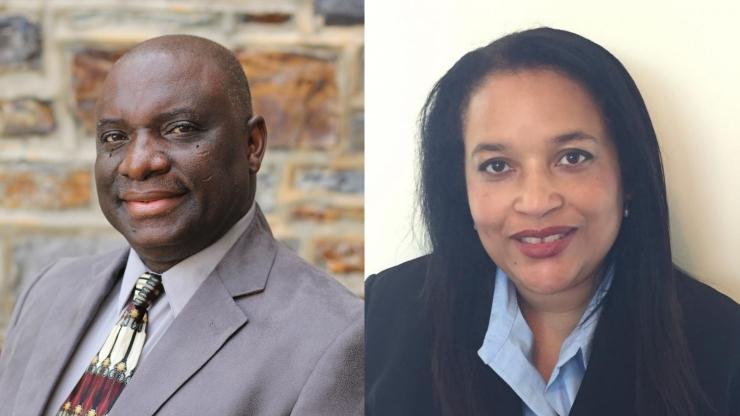 Fred Boadu and Arnetta Girardeau