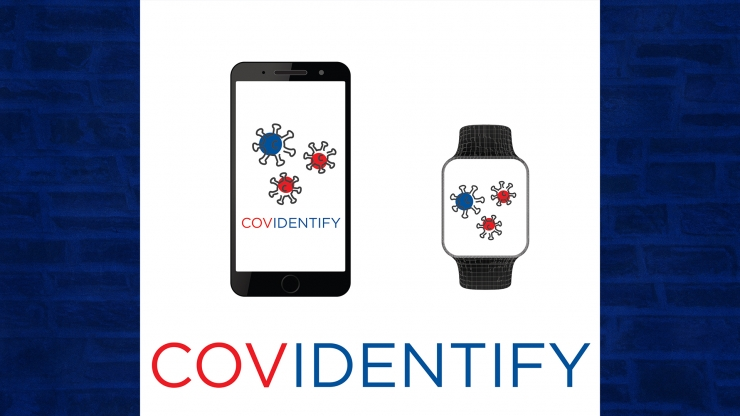 The CovIdentify team will use biometric data from smartwatches and smartphones to identify early signs of COVID-19 infection.