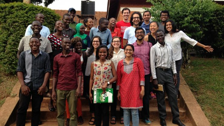 Duke and Makerere BME students during the Spring Break trip to Uganda earlier this year.