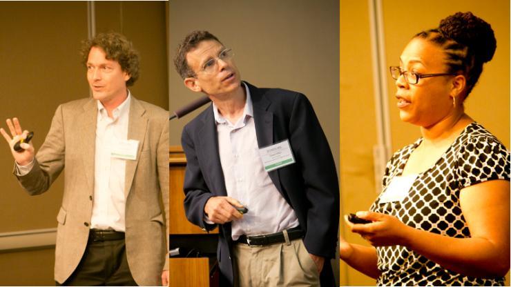 From Left to Right - Volker Blum, David Mitzi, Adrienne Stiff-Roberts