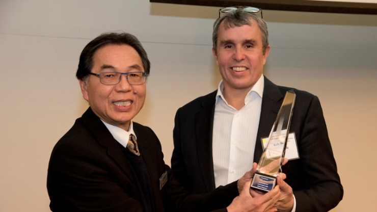 Tuan Vo-Dinh and Eric Betzig