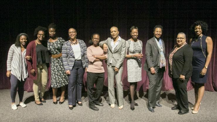 Hidden Figures No More panelists