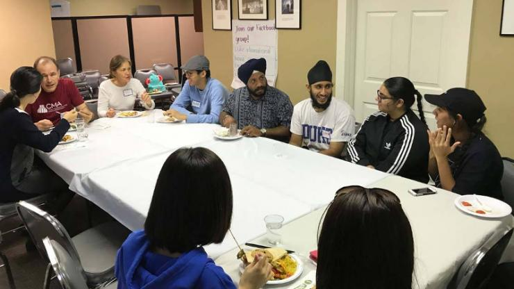 This past October, for Family Weekend, undergraduate students and their family members were invited to a dinner at the International House to share with the global community of Duke parents.